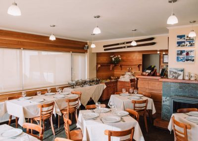 Comedor - Hotel Chalet Valluga