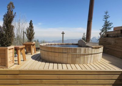 Hot Tub - Hotel Chalet Valluga