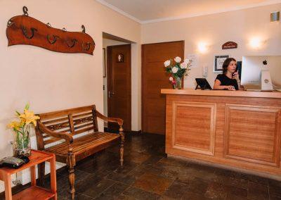 Recepción - Hotel Chalet Valluga
