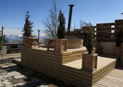 Hot Tub -Hotel Chalet Valluga